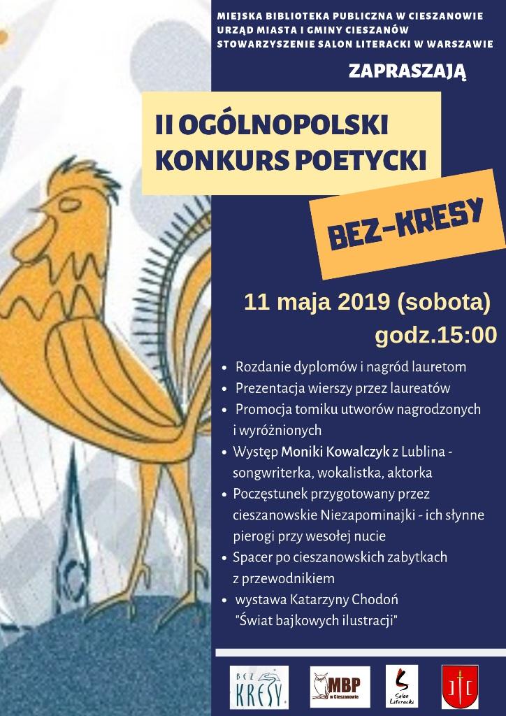 Ii Ogólnopolski Konkurs Poetycki Bez Kresy